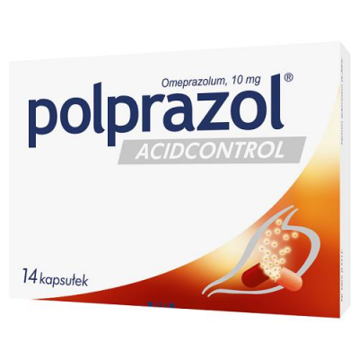 POLPRAZOL ACIDCONTROL 14 tabletek
