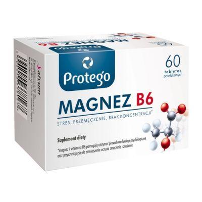 Protego magnez b6 60 tabletek powlekanych cena i opinie for Magnez w tabletkach