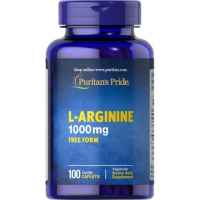 PURITAN'S PRIDE L-Arginina 1000 mg 100 tabletek