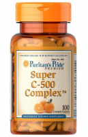 PURITAN'S PRIDE Super C-500 Complex 100 tabletek