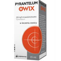 PYRANTELUM 250mg/5ml zawiesina 15 ml
