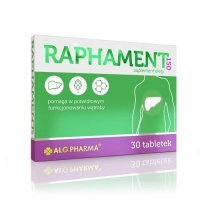 RAPHAMENT 150 30 tabletek Alg Pharma