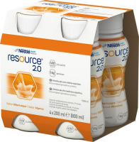 RESOURCE 2.0 płyn o smaku morelowym 4 x 200 ml
