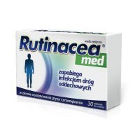 RUTINACEA MED 30 tabletek do ssania
