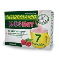 SCORBOLAMID KIDS HOT 3g 8 saszetek