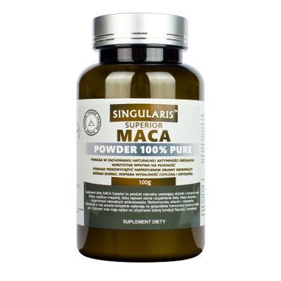 SINGULARIS SUPERIOR MACA POWDER 100g