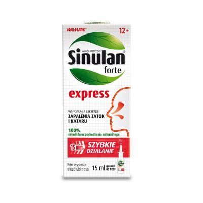SINULAN EXPRESS FORTE aerozol do do nosa 15 ml