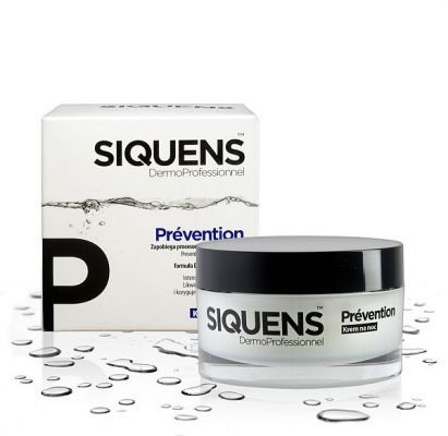 SIQUENS PREVENTION krem na noc 50 ml