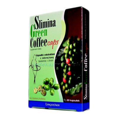 SLIMINA GREEN COFFEE 30 kapsułek