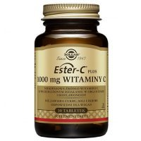 SOLGAR ESTER C PLUS 1000 mg WITAMINA C 30 tabletek