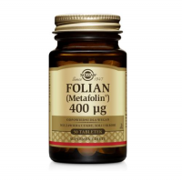 SOLGAR FOLIAN [METAFOLIN®] 400 mcg 50 tabletek