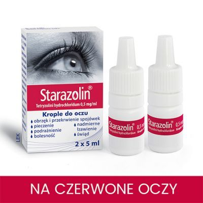 STARAZOLIN krople do oczu 2 x 5 ml