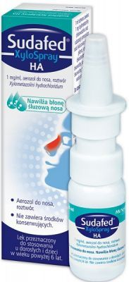 SUDAFED XYLOSPRAY HA aerozol do nosa 10 ml
