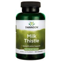 SWANSON FULL SPECTRUM MILK THISTLE 500 mg 100 kapsułek