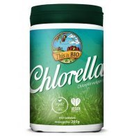 TiB Chlorella 100% Organic 410tabletek THIS IS BIO
