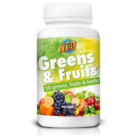 TiB GREENS & FRUITS 90 tabletek