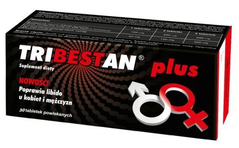 TRIBESTAN PLUS 30 tabletek
