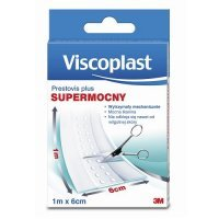 VISCOPLAST PRESTOVIS PLUS SUPERMOCNY plaster tkaninowy do cięcia 1 m x 6 cm