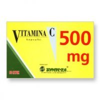 VITAMINA C 500 mg SYNTEZA 10 kapsułek