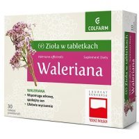 WALERIANA 150 mg 30 tabletek COLFARM