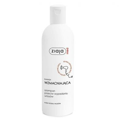 ziaja med kuracja wzmacniająca szampon przeciw wypadaniu włosów 300 ml